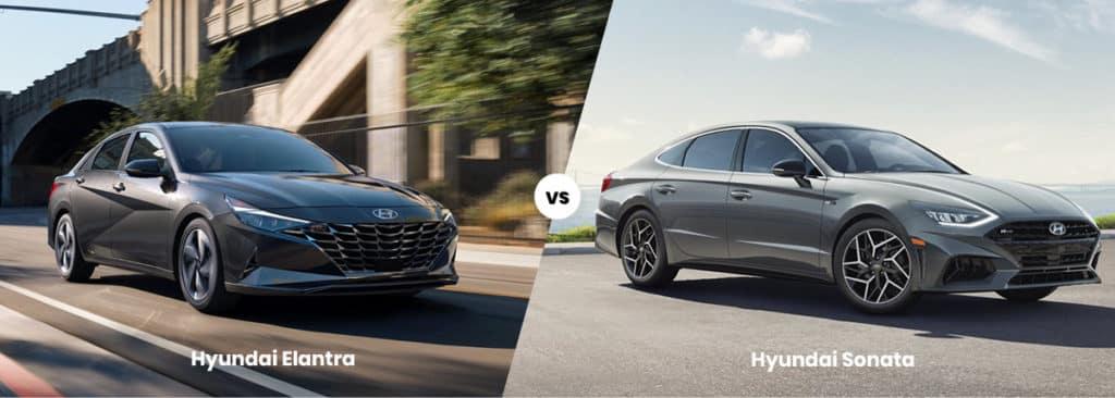 2021 Hyundai Elantra vs Sonata | Price, MPG, Dimensions ...