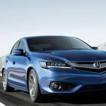 2017 Acura ILX blue exterior model