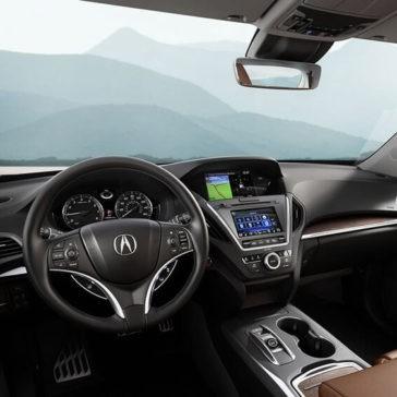 2017 Acura MDX front interior