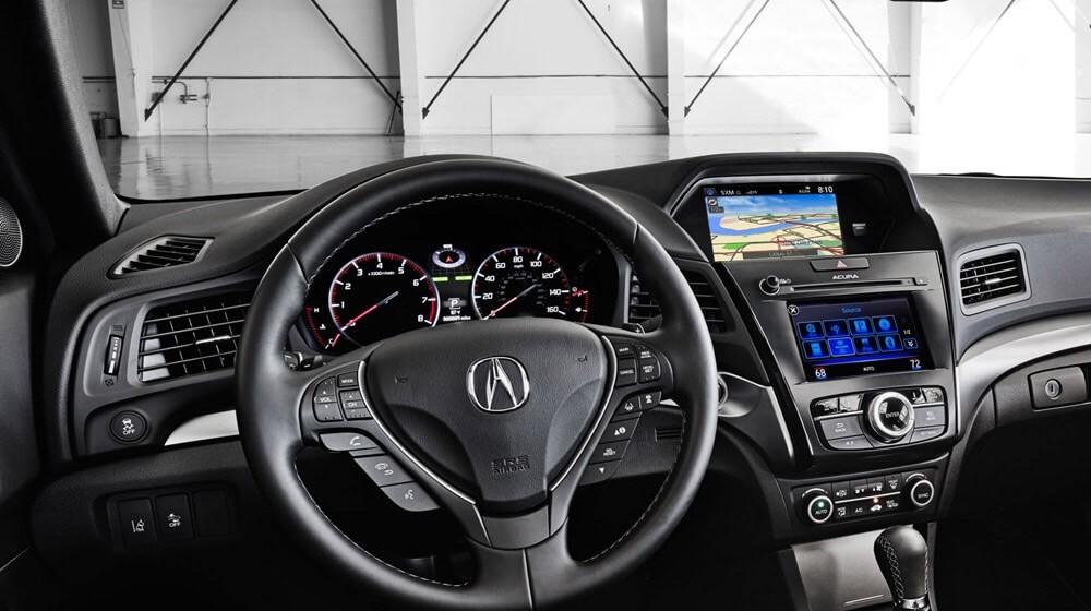 2017 Acura ILX front interior