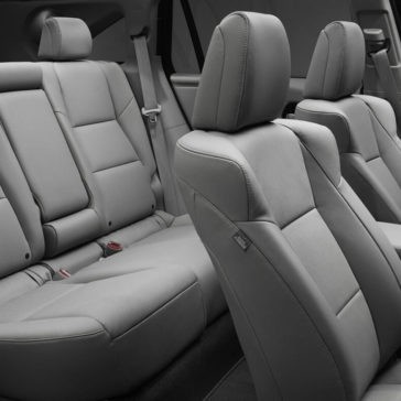 2018 Acura RDX seating