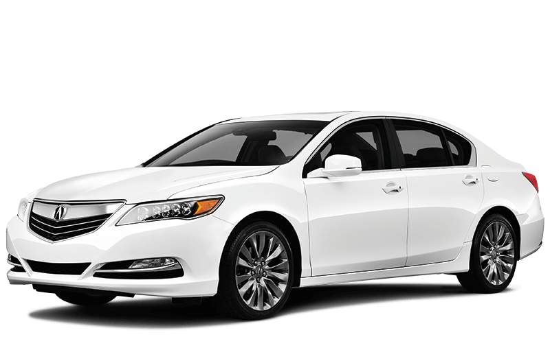 2017 Acura RLX on white