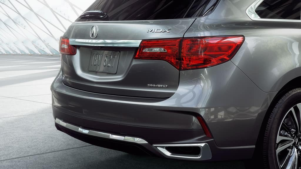 Acura MDX Rear View
