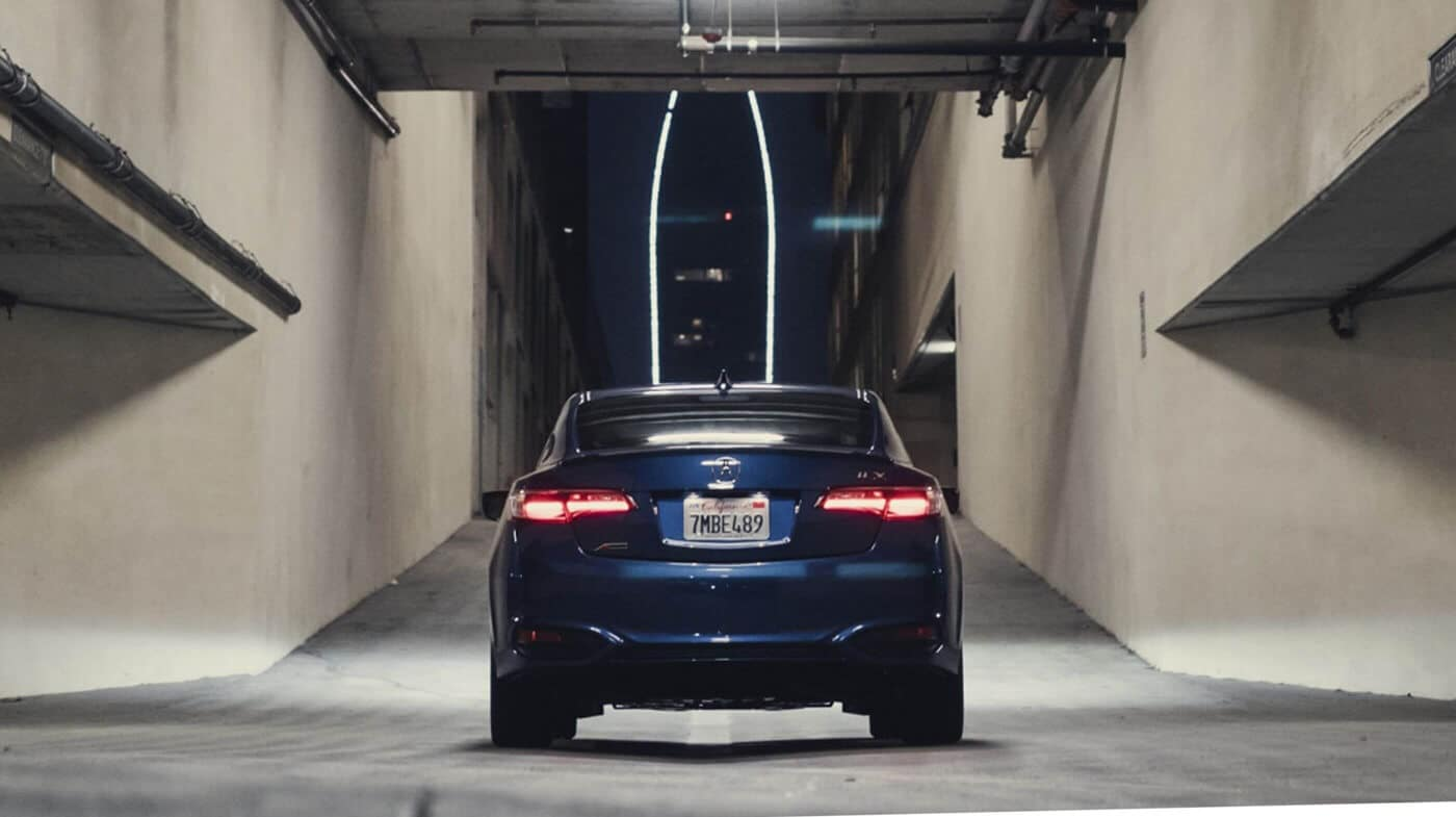 2018 Acura ILX rear view