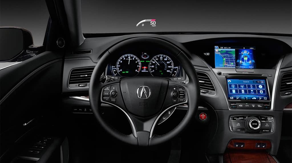 New Acura Dash with HUD