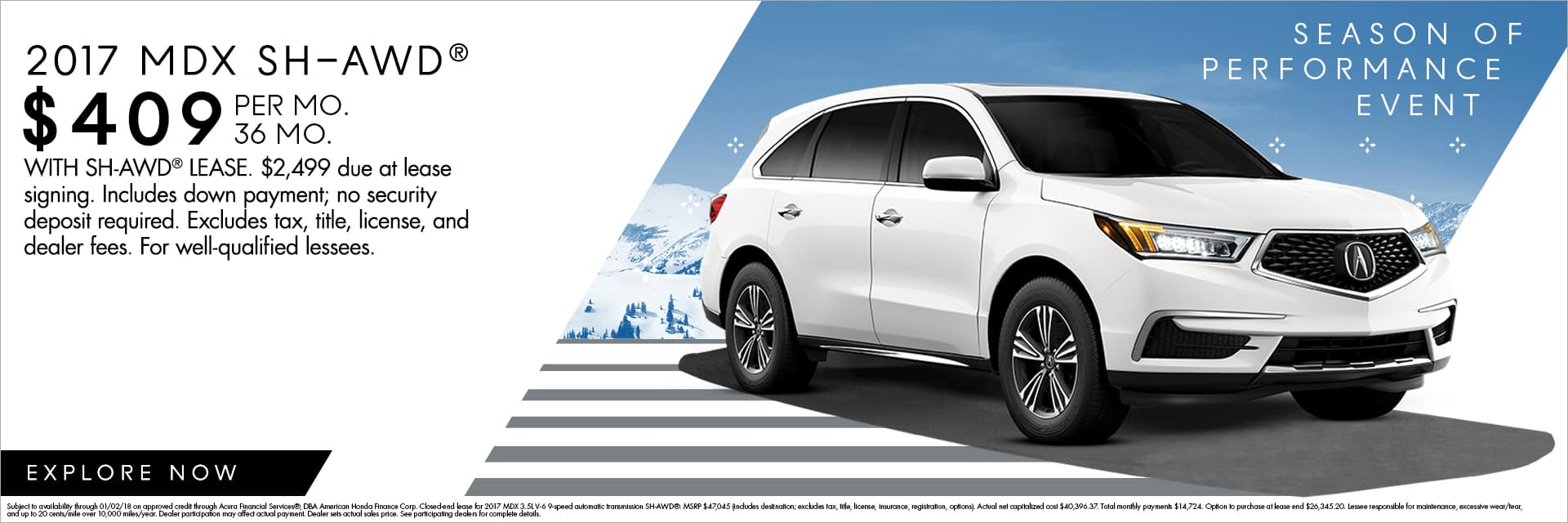 Unwrap Performance During Acura Of Fayettevilles Season Of - Lease an acura mdx
