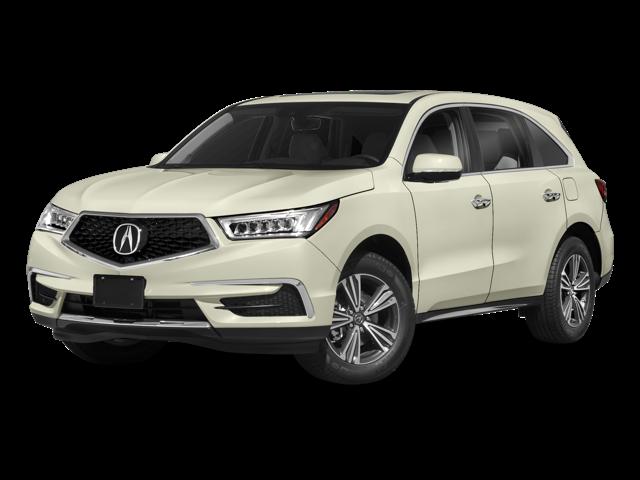 2018 Acura MDX white background