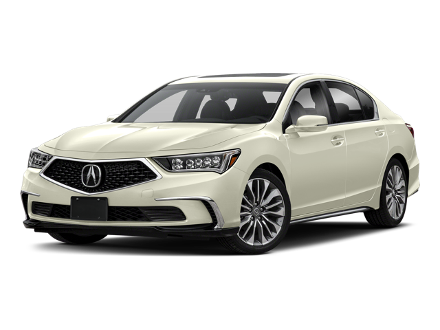 2018 Acura RLX white background