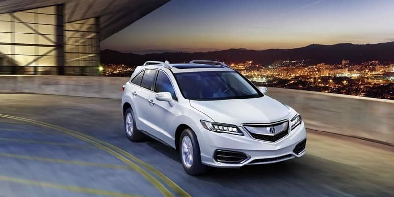 2018 Acura RDX white exterior model