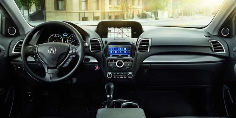 2018 Acura RDX front interior features