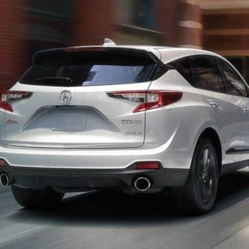 2019 Acura RDX white exterior