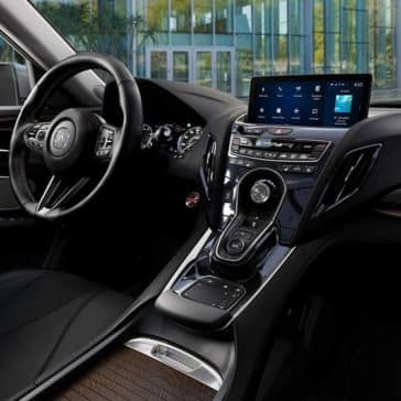 2019 Acura RDX front interior features