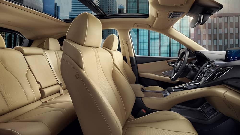 2019 Acura RDX front interior