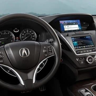 2019 Acura MDX front interior