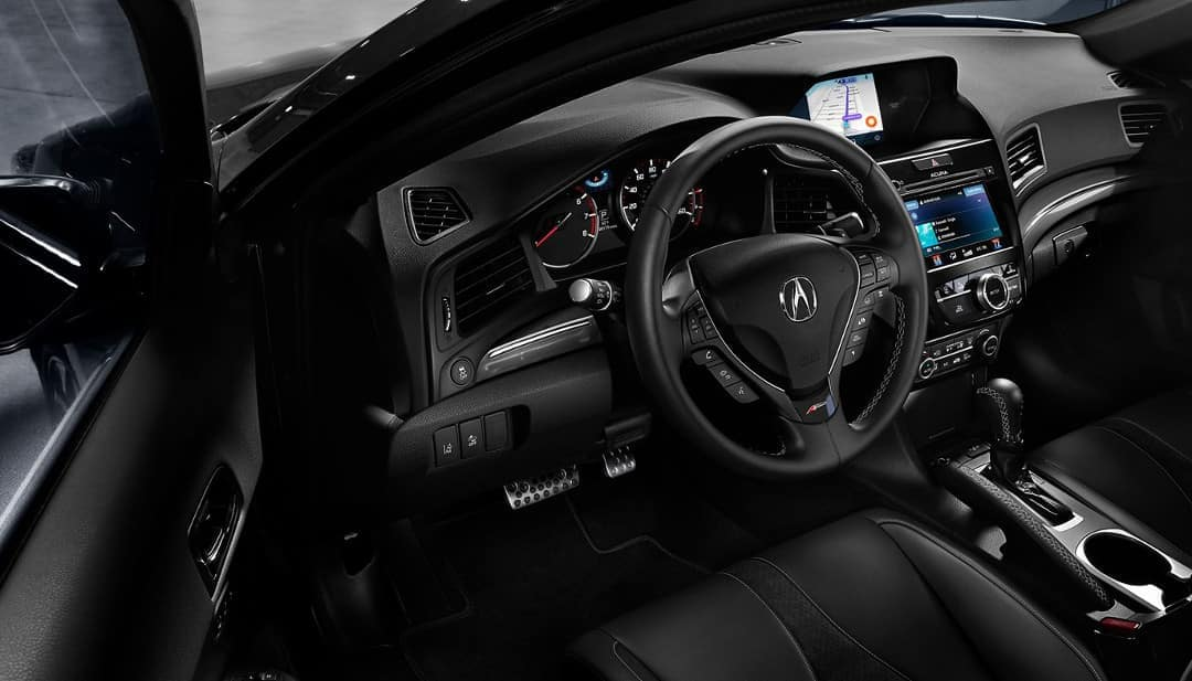 Interior cabin of 2019 Acura ILX