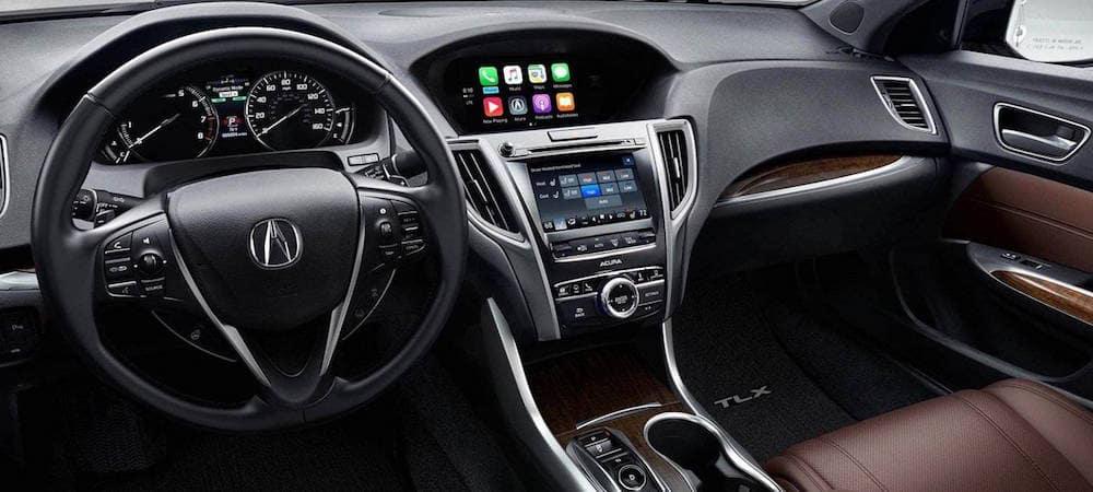 Acura TLX dashboard