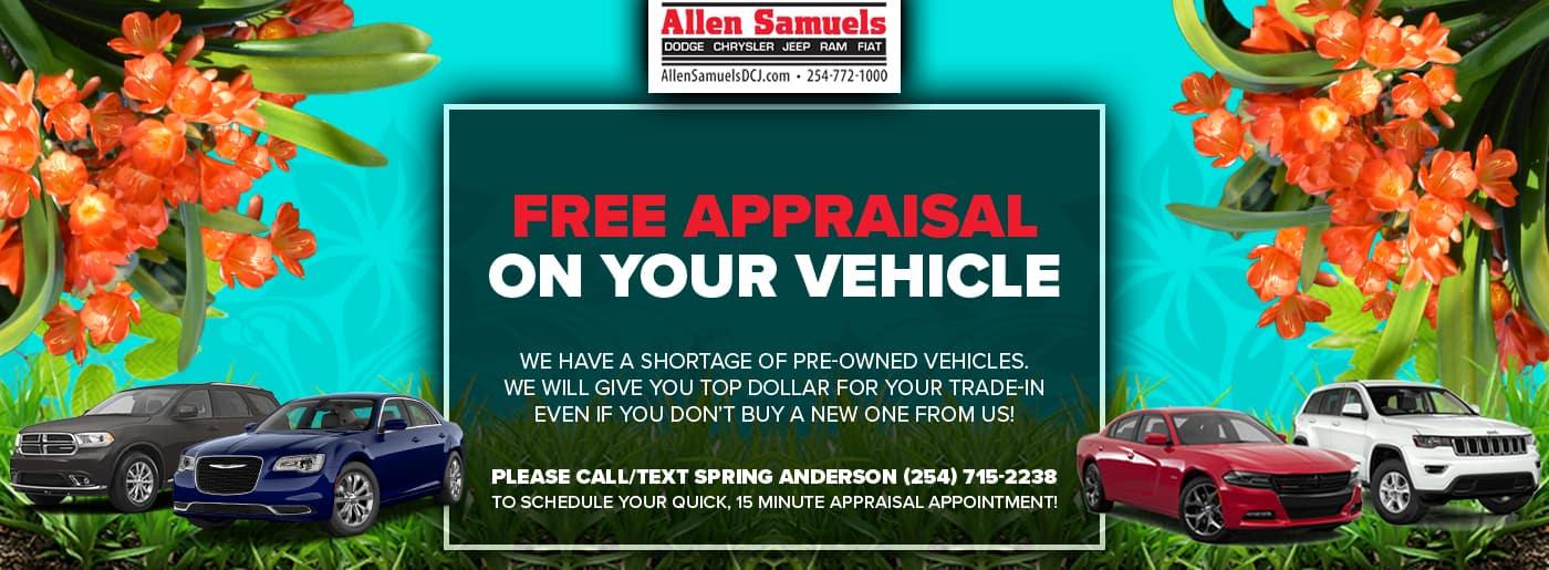 Allen Samuels Dodge Chrysler Jeep Ram FIAT | Auto Dealer in