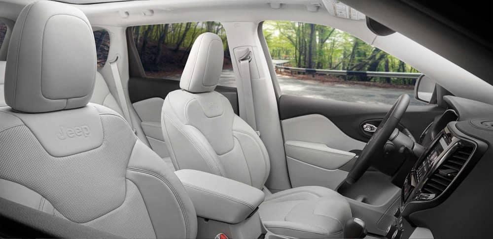 2019 Jeep Cherokee Seating