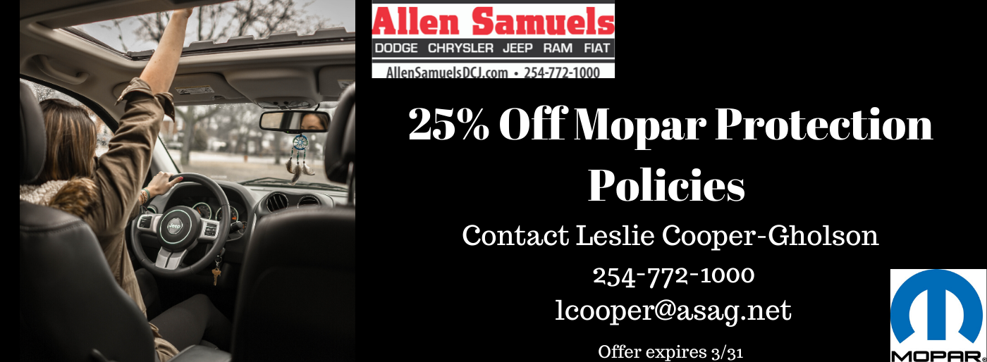 Allen Samuels Chevrolet Waco >> Allen Samuels Dodge Chrysler Jeep Ram Fiat Auto Dealer In