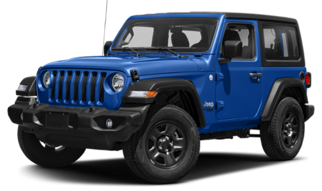 2020 blue jeep wrangler