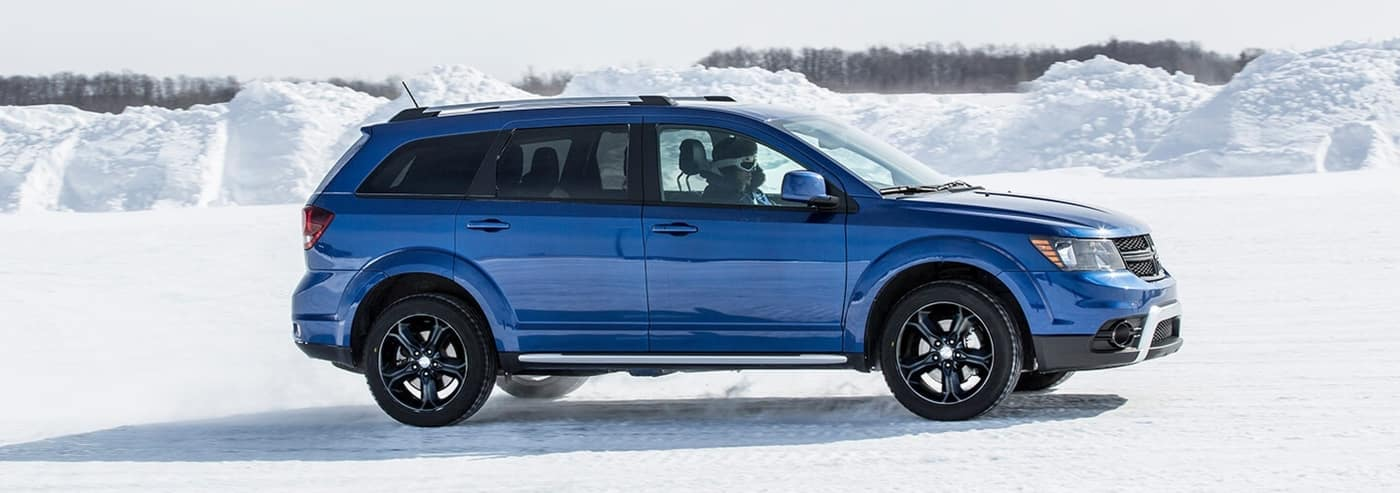 2020 Blue Dodge Journey