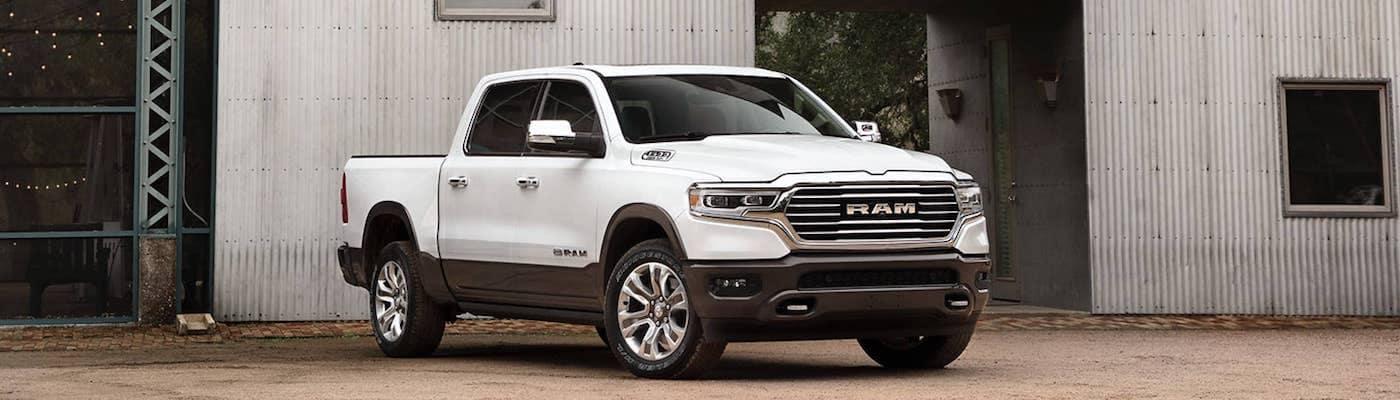 2021 Ram 1500 white