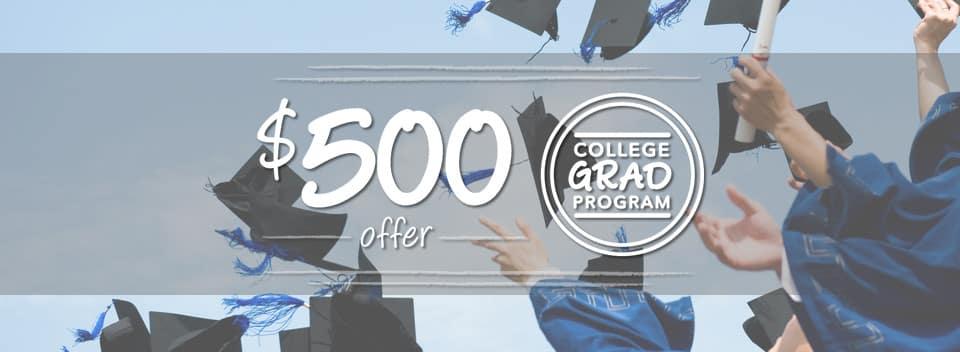 College Grad Program Banner