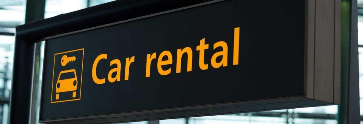 Car Rental banner