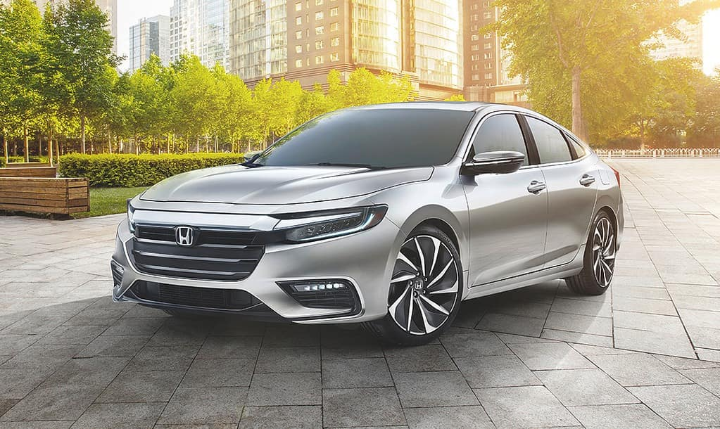 2019 Honda Insight Silver