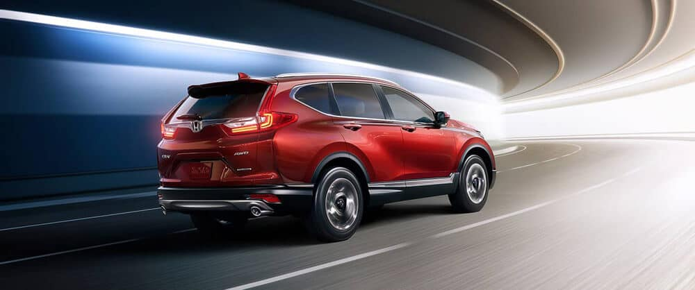 2018 Honda CR-V driving on road
