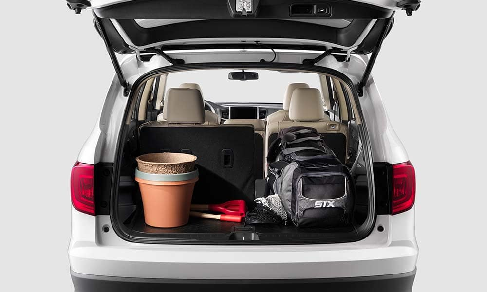 2018 Honda Pilot open trunk