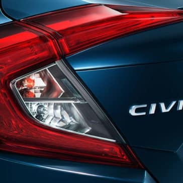 2018 civic sedan touring ext b 607m rear taillight