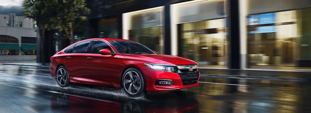 2019 Honda Accord Sedan Color Red