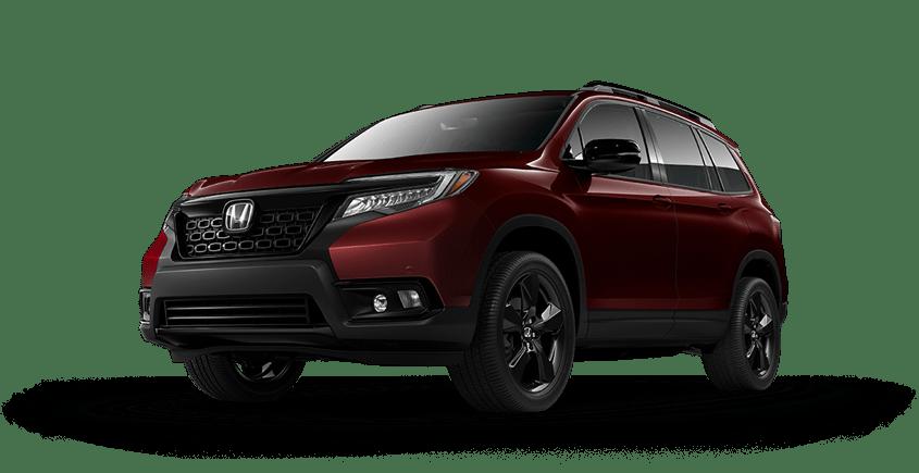 2019 Honda Passport Red
