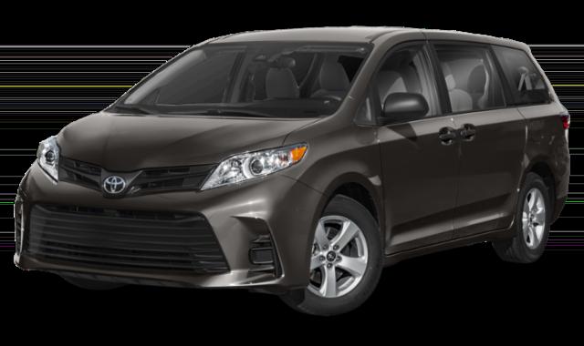 Gray 2020 Toyota Sienna