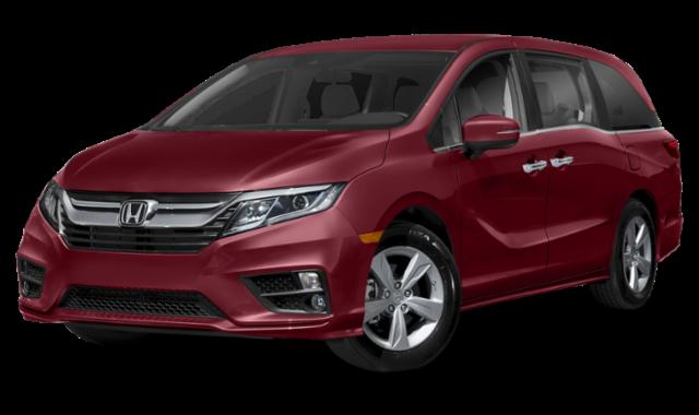 Red 2020 Honda Odyssey