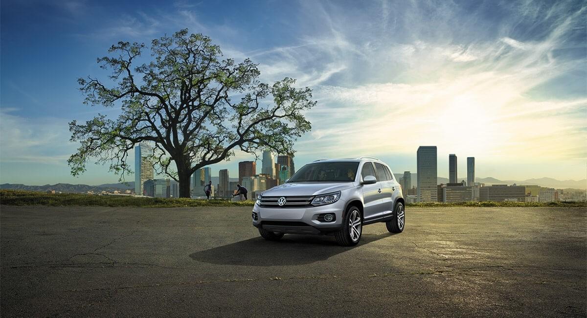 2017 Volkswagen Tiguan exterior