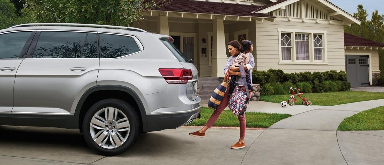 2018 Volkswagen Atlas exterior