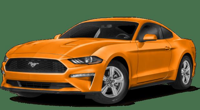 2019 Ford Mustang Orange