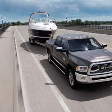 2018 Ram 3500 Towing Boat