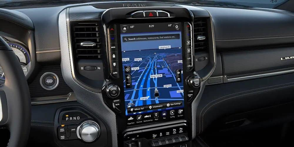 2019 ram 2500 uconnect touchscreen