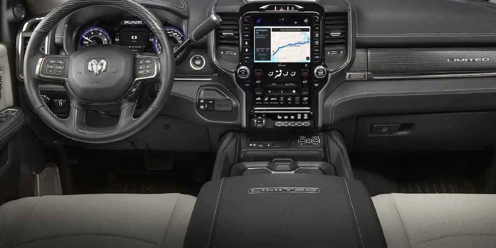2019 ram 3500 front interior display