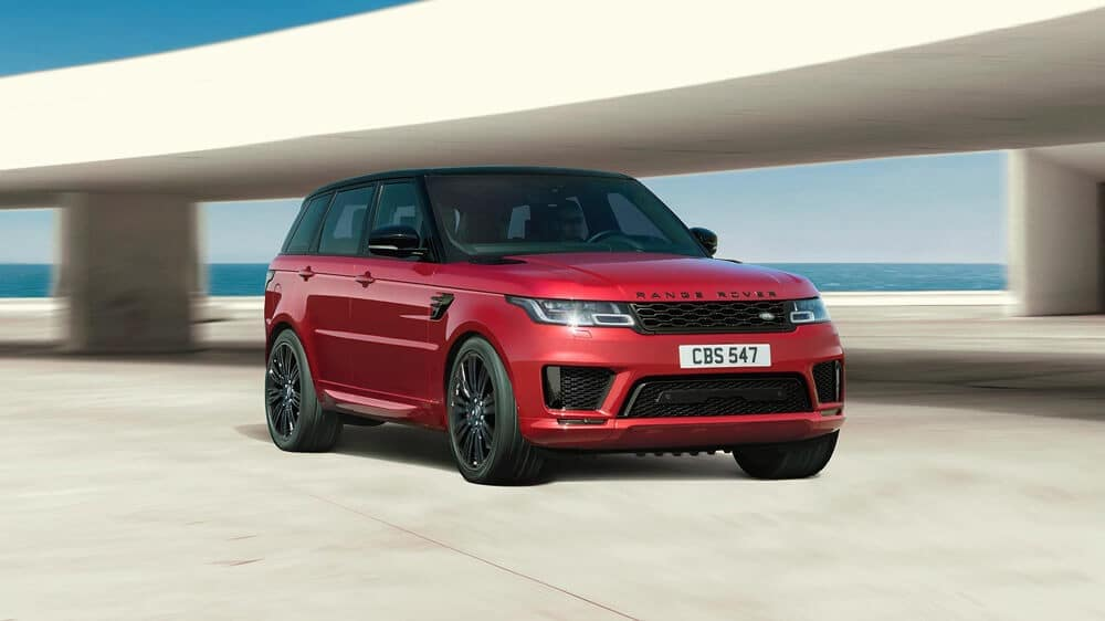2018 Land Rover Range Rover Sport in red
