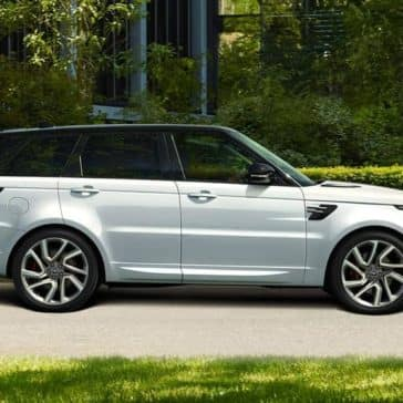 2018 Land Rover Range Rover Sport in silver