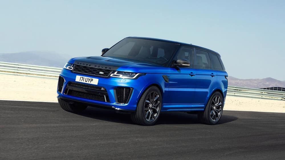 2018 Land Rover Range Rover Sport in blue
