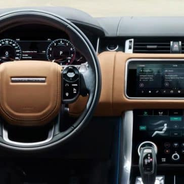 2018 Land Rover Range Rover Sport dash view