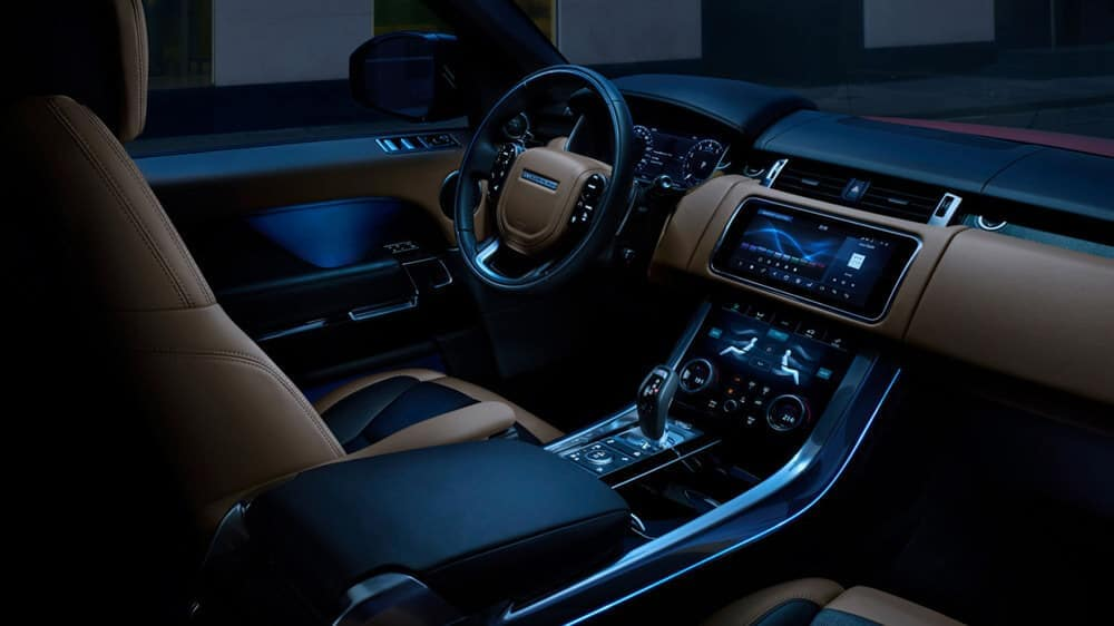 2018 Land Rover Range Rover Sport Interior lighting
