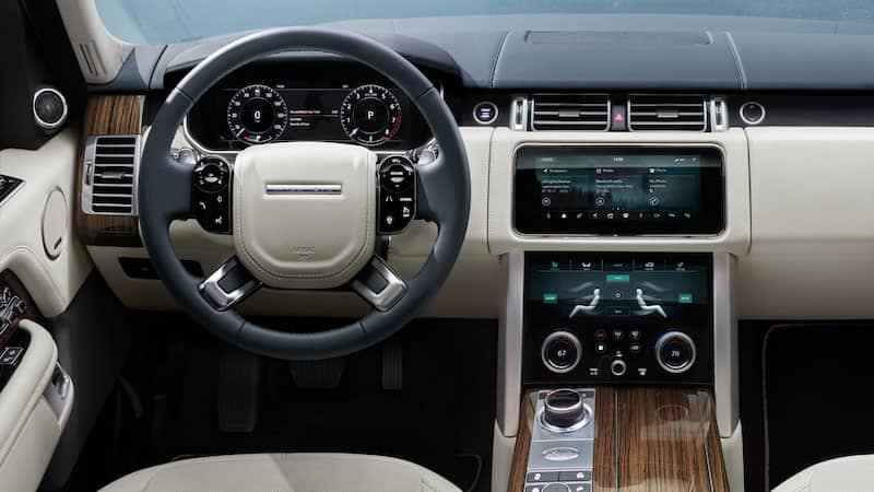 2019 Land Rover Range Rover Interior Steering View