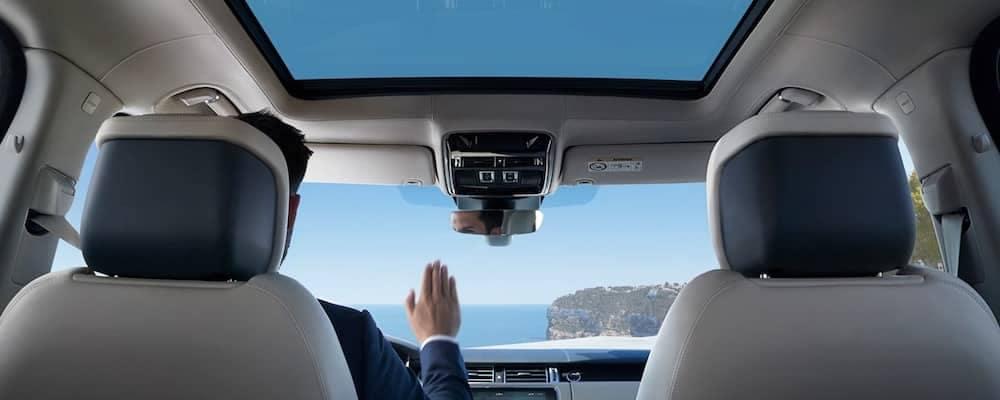 2019 Land Rover Range Rover Sunshade Control