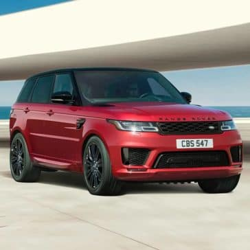 2019 Land Rover Range Rover Sport Parked